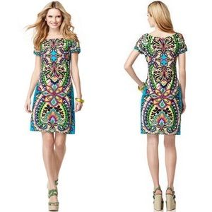 Sunny Leigh | Exotic Print Sheath Dress